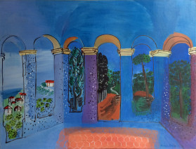 Raoul Dufy, La Terrasse à Vallauris, 1927