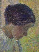 Henri Martin, Portrait d'une femme de profil, 1913