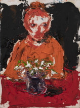 Shani Rhys James, Figure and Snowdrops, 2021