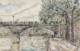 Paul Signac, Paris. Le Pont des Arts, 1927