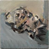 Frank Auerbach, Reclining Head of Julia, 2006