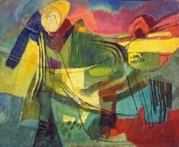 Afro, Figura Distesa, 1952