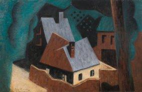 Jean Metzinger, Arbres et Maisons, 1920