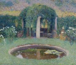Henri Martin, Marquayrol, le bassin de la tonnelle sud, c.1920