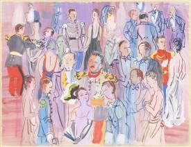 Raoul Dufy, La réception à l'amirauté, 1935