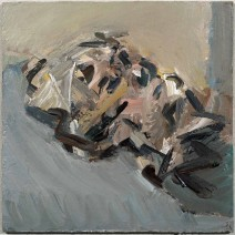 Frank Auerbach, Reclining Head of Julia, 2006