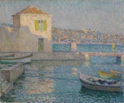 Henri Le Sidaner, Maison près de la mer, 1925