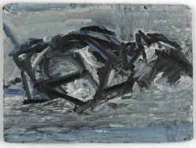 Frank Auerbach, JYM Reclining, 1971