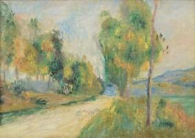 Pierre-Auguste Renoir, La route de campagne