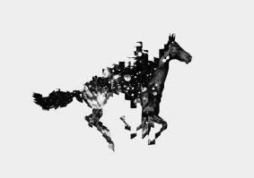 Leif Podhajsky, Dark Rift, white, 2013