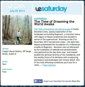 Le Cool review The Time of Dreaming the World Awake by Yvette Monahan