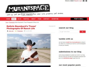 Mutant Space Reviews Texas by Kathrin Baumbach