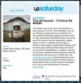 Le Cool Review The Afronauts by Cristina De Middel