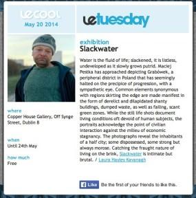 Slackwater by Maciej Pestka reviewed by Le Cool