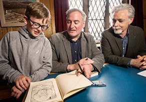 Eoin Colfer chats to Chris Riddell