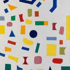 Caziel, WC784 - Composition, 1967