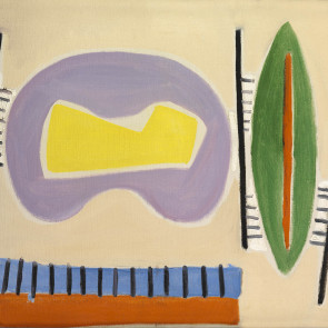 Caziel, WC210 - Composition #35, c.1950