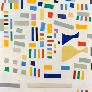 Caziel, WC658 - Abstract Composition, 1967