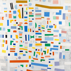 Caziel, WC649 - Abstract Composition, 1967