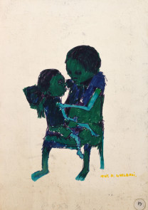 Dumile Feni, Mother and Child, 1967