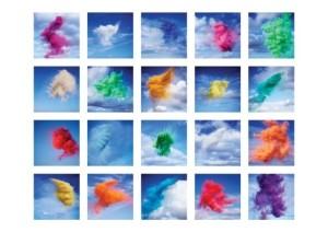 ROB & NICK CARTER: Paint Pigment Photographs