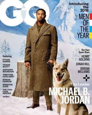 AWOL ERIZKU: Photography of Michael B. Jordan for the cover of GQ