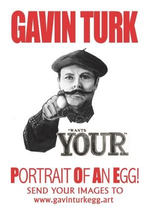GAVIN TURK: Portrait of an Egg