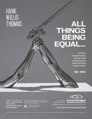 HANK WILLIS THOMAS: All Things Being Equal... at Crystal Bridges Museum of American Art