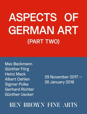 Aspects of German Art (Part Two)