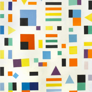 Caziel, WC575 - Abstract Composition IX.1978, 1978