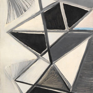 Caziel, WC345 - Abstract Composition, c. 1948