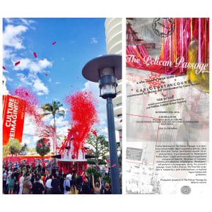 Art Processional at Faena: The Pelican Passage, Tide By Side, (VIDEO LINK)