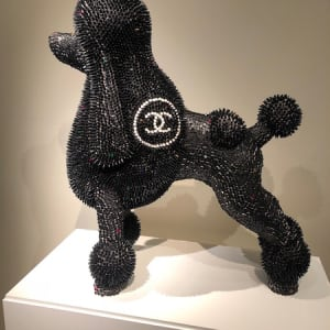 Black Chanel Poodle