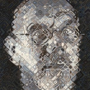 Self-Portrait Woodcut