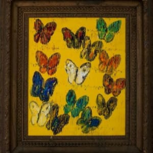 Mongolia (Butterflies Ascending on Tuscan Yellow)
