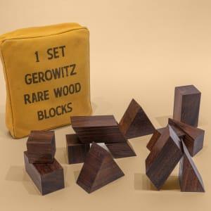 1 Set Gerowitz Rare Wood Blocks
