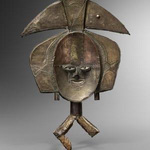 Kota Janus, reliquary figure, Gabon