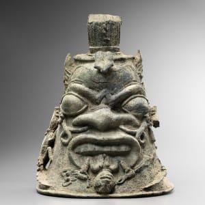 Low Niger Bronze bell head, Nigeria