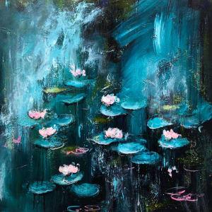 Daniel Hooper, Moonlight Lilies, 2020