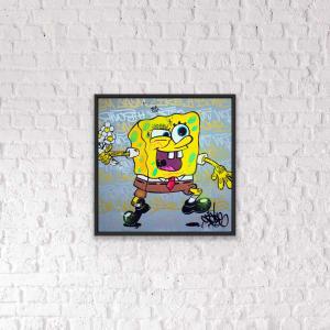 Opake One, Sponge Bob, 2020