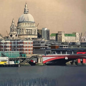 William Thomas, St Paul's and the City, 2018