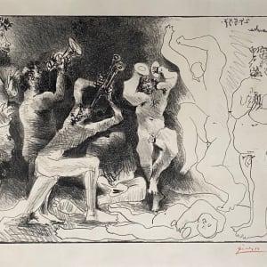 Pablo Picasso, La Danse des Faunes, 1968
