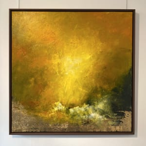 Daniel Hooper, Sea of Gold (100cm), 2021