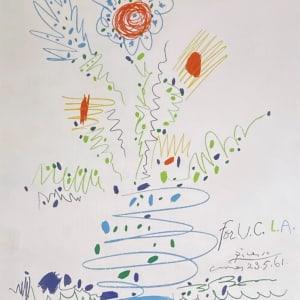 Pablo Picasso, Fleurs pour U.C.L.A., 1969