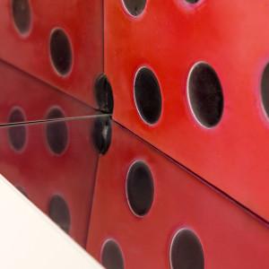 Matteo Negri, Kamigami red window, 2016