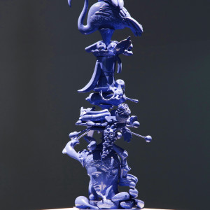Totem Atomic, Bronze (video at private collection)