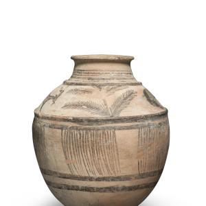 Elamite jar with goats and palms, Susa region, Iran, mid 3rd millennium BC