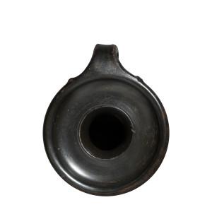 Greek black-glaze perfume pot, Talcott Class, Athens, c.425-400 BC