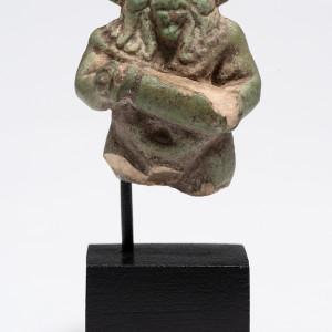 Egyptian amulet of Bes, Late Dynastic Period-Ptolemaic Period, c.747-30 BC