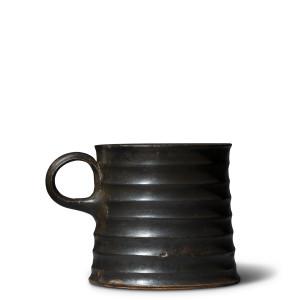 Greek black-glaze mug, Campania, c.300 BC